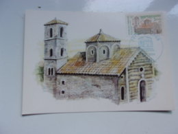 FRANCE (1984) UNESCO  église Sainte Marie KOTOR , Yougoslavie - Maximumkarten