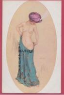 ILLUSTRATEUR---Raphael KIRCHNER---Princesse Riquette----femme Nue - Kirchner, Raphael
