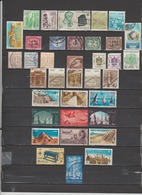 36 TIMBRES EGYPTE OBLITERES & NEUFS SANS GOMME DE 1889 à 1985 - Aéreo