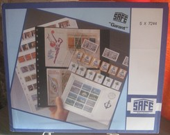 I.D. - Feuilles GARANT - 3 BANDES VERTICALES Fond Transparent - REF. 7244 (1) - Albums & Reliures