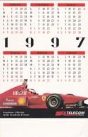 CALENDARIO - TELECOM ITALIA E FERRARI - 1997 - Calendari