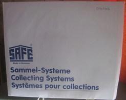 I.D. - Feuilles GARANT - 3 BANDES VERTICALES Fond Transparent - REF. 7245 (5) - Albums & Reliures