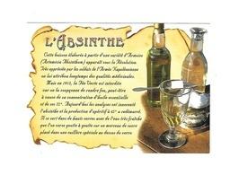 * Carte Postale  Neuve  Boisson  L' ABSINTHE - Publicité