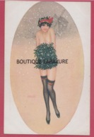 ILLUSTRATEUR---Raphael KIRCHNER---Le Manchon De Gui--femme Nue--belle Carte - Kirchner, Raphael