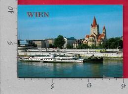 CARTOLINA VG AUSTRIA - VIENNA - WIEN An Der Donau - 10 X 15 - ANN. 1999 WEIHNACHTEN - Altri