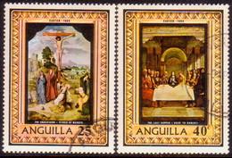 Anguilla 1969 SG #53-54 Compl.set Used Easter - Anguilla (1968-...)