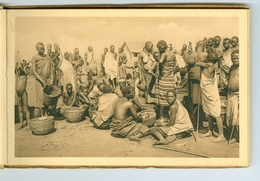 "11 CP Ruanda Urundi ""Un Marché"" Astrida Butare Ed. Jos Dardenne 1 Carnet Sér. 2 H. Vers 1930 Ethnographie Rwanda Burundi - Ruanda-Urundi"
