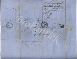 CARL & WILHELM CASTANJEN  Tabakfabriek  DUISBURG  Rechnung / Invoice, Send By Post From KOBLENZ 17 August 1859 - Deutschland