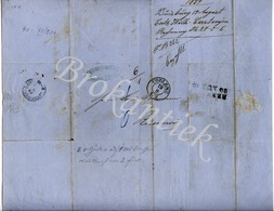CARL & WILHELM CASTANJEN  Tabakfabriek  DUISBURG  Rechnung / Invoice, Send By Post From KOBLENZ 17 August 1859 - 1800 – 1899