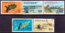 Anguilla 1969 SG #63-67 Compl.set Used Christmas - Anguilla (1968-...)