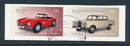 GERMANY Mi.Nr. 3147-3148 Klassische Deutsche Automobile  -used - BRD