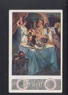 Bund Der Deutschen In Niederösterreich Lithographie 1912 Felicitas - Geschichte