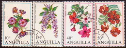 Anguilla 1970 SG #72-75 Compl.set Used Flowers - Anguilla (1968-...)