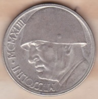 Médaille 20 LIRE 1943 MUSSOLINI – DUCE - Other