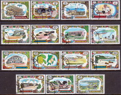 Anguilla 1970 SG #85-98 Compl.set Used - Anguilla (1968-...)