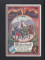 Dt. Reich PK Rheinland Besetzung Pfalzwoche Bayer. Hilfswerk 1924 - Geschichte
