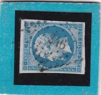 N° 14 A  PC 346  BELFORT / HAUT-RHIN  REF 12118  Avec Variété - 1853-1860 Napoleon III