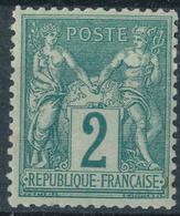 N°74 NEUF * - 1876-1898 Sage (Type II)