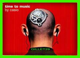 ADVERTISING - PUBLICITÉ DE MUSIQUES - TIME TO MUSIC BY CASIO - BOOMERANG - - Publicité