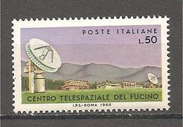 Italia - Serie Completa Nuova: Centro Per Le Telecomunicazioni Spaziali Del Fucino - 1968 * G - Telecom