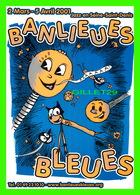 ADVERTISING - PUBLICITÉ DE MUSIQUES - BANLIEUES BLEUES, 2001 - JAZZ EN SEINE-SAINT-DENIS (93) - Publicité
