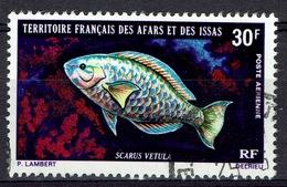 Afars & Issas (French Djibouti), Fish, Scarus Vetula, 1971, VFU  Airmail - Afars Et Issas (1967-1977)