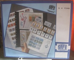 I.D. - Feuilles GARANT - 8 CASES Pour CARNETS Fond Transparent - REF. 7246 (5) - A Nastro