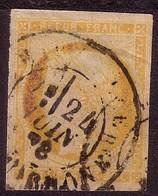 """YT 48 """" Cérès émission De Bordeaux 40c. Orange """" 1870 - 1870 Bordeaux Printing"""