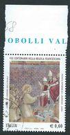 Italia 2008; Anniversario Della Regola Francescana, Bordo Superiore. - 2001-10: Usati