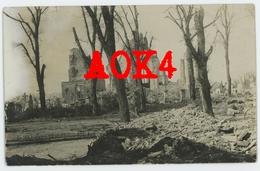 LANGEMARK Kerk Ruine 1914 1915 1916 1917 Flandern Kerkhof - Moorslede
