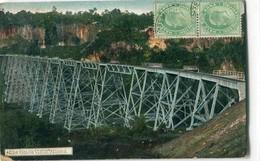 MYANMAR ( BURMA ) / BIRMANIE : Rangoon : The Goteik Viaduct - Myanmar (Burma)