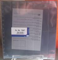 I.D. - Feuilles GARANT - 14 CASES Pour CARNETS Fond Transparent - REF. 7247 (5) - Albums & Reliures