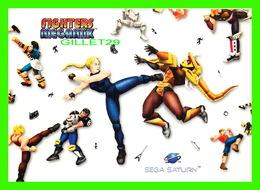 ADVERTISING - PUBLICITÉ - FIGHTERS MEGAMIX - SEGA SATURN - 1997 SEGA - - Publicité