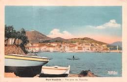 66 - Port-Vendres - Beau Plan Pris Des Tamarins - Carte Colorisée - Port Vendres