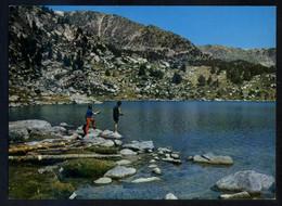 Meranges *Lago De Malniu* Ed. C. Y P. Serie II Nº 1314. Nueva. - Pesca
