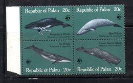 BF59 - PALAU 1983 , Serie Yvert N. 15/18  ***  Balene Wwf - Palau