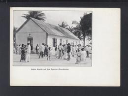 Dt. Reich AK Unsere Kapelle Auf Dem Ngambo Daressalan Berliner Mission - Missionen