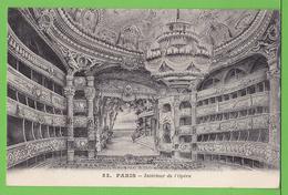 PARIS / INTERIEUR DE L'OPERA.... / Carte Vierge - Andere Gemeenten