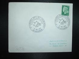 LETTRE TP FRANCE M. DE CHEFFER 0,30 OBL.19 MAI 1969 84 AVIGNON 21e CONGRES INTAL DES CHEMINOTS ESPERANTISTES - Esperanto