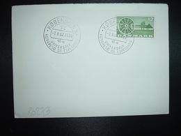 LETTRE TP DANEMARK 12 OBL.7.8.62 KOBENHAVN K UNIVERSALA KONGRESO DE ESPERANTO - Esperanto