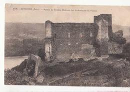 CPA 38 - Seyssuel - Ruines De L'ancien Château Des Archevêque De Vienne   : Achat Immédiat - Autres Communes