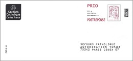 France 2016 - PAP Ciappa-Kavena - Secours Catholique ( Mi 6336ya - YT 5016 ) - Postal Stamped Stationery