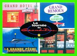 ADVERTISING - PUBLICITÉ - LA TOURNÉE DU GRAND DUC SUR TV5  - 5 MULTIVUES - ZOOM CARDS - Publicité