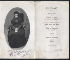 Aardooie :100 Jarige 1821 - 1921 Virginie De Vrije - Unieke Kaart. - Vieux Papiers