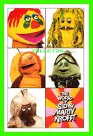 ADVERTISING - PUBLICITÉ - THE WORLD OF SID AND MARTY KROFFT - BORDERS - - Publicité