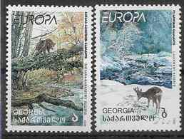 1999 GEORGIE 223-24** Europa, Nature, Animaux, Ours - Arménie