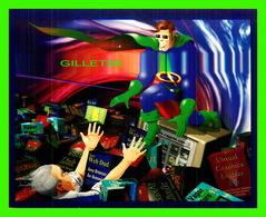 ADVERTISING - PUBLICITÉ - CAPITAL PRESENTATIONS 1996 , YOUR SUPER HEROES OF SERVICE BUREAUS ! - - Publicité