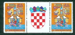 Croatia 1991 2nd Radisha ( Trsat ) Perforated Stamp And Label Croatian Sheet Radisa - Croazia