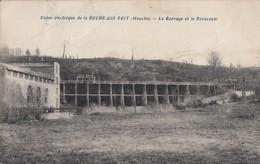 LA ROCHE-QUI-BOIT: Usine Electrique - Le Barrage Et Le Déversoir - Andere Gemeenten