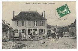 ECLANCE ECOLE MAIRIE ANiMéE Route De Vernonvilliers Près Arsonval Lévigny Bar Sur Aube Vendeuvre Barse Brienne Château - France